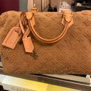 Authentic Louis Vuitton collectors bag cruise bag